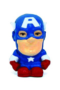 Mini Size Marvel Captain America Eraser Top