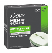Dove Men+Care Body and Face Bar, Extra Fresh, 120ml, 20 Bar