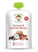 Little Freddie From 4 Month Organic Coconut & Summer Berries 90g×6