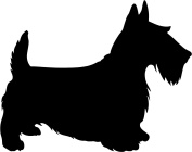 Scottie Dog Rubber Stamps custom stamps rubber