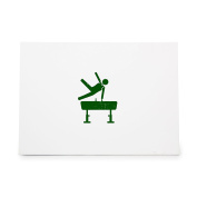 Gymnast Athlete Gymnastics Olympics Style 7459, Rubber Stamp Shape great for Scrapbooking, Crafts, Card Making, Ink Stamping Crafts