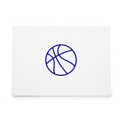 Basketball Fitness Health Lifestyle Style 7262, Rubber Stamp Shape great for Scrapbooking, Crafts, Card Making, Ink Stamping Crafts