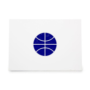 Basketball Athletics Ball Baloncesto Game Pelota Style 7249, Rubber Stamp Shape great for Scrapbooking, Crafts, Card Making, Ink Stamping Crafts