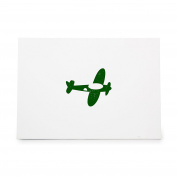 Aeroplane Fly Flying Toy Style 6101, Rubber Stamp Shape great for Scrapbooking, Crafts, Card Making, Ink Stamping Crafts