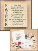 Father Dad There is a Special Place I Hold For You Religious Wood Rubber Stamp