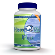 HemRid Plus - Fast Piles & Haemorrhoids Treatment Relief - Formulated For Piles Symptoms Including Burning, Itching, Irritation & Bleeding. Made in the USA For Safety and Potency.