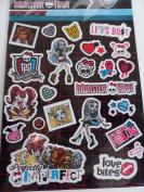 Sandylion Monster High Foldover Sticker