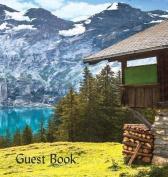 Guest Book (Hardback), Visitors Book, Guest Comments Book, Vacation Home Guest Book, Cabin Guest Book, Visitor Comments Book, House Guest Book