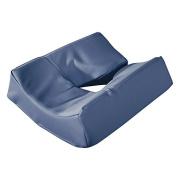 Master Massage Patented Memory Foam Ergonomic Dream Face Cushion Pillow Headrest, Royal Blue