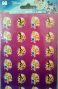 Disney Princess 96 Stickers