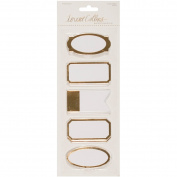 Studio Gold Sticky Labels 50/Pkg-