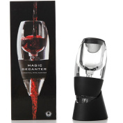 LEasylife Wine Aerator Pourer - Premium Aerating Pourer and Decanter Spout for Red Wine Gift Home