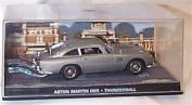 james bond 007 aston martin DB5 thunderball film scene car 1.43 scale diecast model