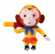 . Beautiful Plush Puppet/Lovely Animals Dolls, Monkey King 30cm