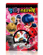 Miraculous Ladybug Multiple Sticker Book