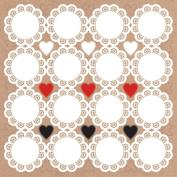 Mix & Match Cardstock Stickers 30cm x 30cm -Doilies