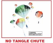 Army Men No Tangle Parachute Tangle Free Chute