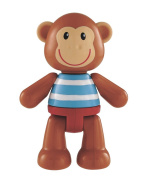 Early Learning Centre Toybox Monty Monkey Baby Toy – Auditory and Tactile Interaction For Children –Engages and Employs Creativity – For On-The-Go or At-Home Play â .