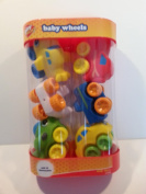 Play Right Baby Wheels - White Green Yellow Aeroplanes & Cars