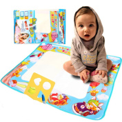 Education Drawing Magic Mat for Kids, Toddlers, Painting Writing with Water Pen and Drawing Templete