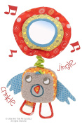 Little Bird Told Me LB3035 Chirping Birdy Bear Baby Toy