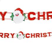 Kingfansion Santa Claus Christmas Scene Layout And Decorative Christmas Tree Ornaments