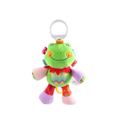X-star Cute Frog Shape Design Bell Rings Toys Multifunctional Solf Baby Rattle Toys