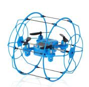 Rukiwa FY802 2.4GHz 4CH 6-Axis Mini Hybrid Car-Copter Blue RC Quadcopter