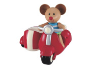Early Learning Centre Toybox Max Mouse and Scooter Baby Toy – Auditory and Tactile Interaction For Children –Engages and Employs Creativity – For On-The-Go or At-Home Play â .
