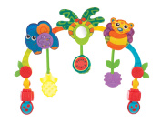 Playgro Tropical Tunes Travel Play Arch for Baby