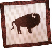 American Bison ~ Buffalo ~ Security Blanket