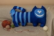 "Pillow Toy ""Blue Cat"""