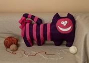 """Pillow Toy """"Violet Cat"""""""