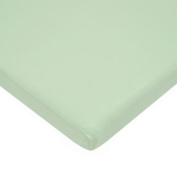American Baby Company 100% Cotton Value Jersey Knit Bassinet Sheet, Celery by American Baby Company