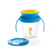 Wow Baby Wow Cup 360 Spill Free Training Cup - Blue/Yellow - 210ml by Wow Baby