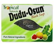 Dudu Osun Tropical Pure Soap Restores Damaged Skin, Natural Black 150 g