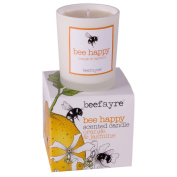 Beefayre Bee Happy Votive Scented Candle - Orange & Jasmine
