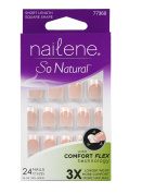 Nailene So Natural Everyday Nails Natural Look Short Pink