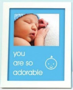 Pearhead - sentiment frame - you are so adorable - blue - 70173 by Pearhead