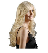 """Wigs 75cm / 30"""" Women's Hair Wig Fashion Long Big Wavy Heat Resistant Light Blonde Wig for Cosplay Party Costume"""