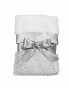 Grey Silky Soft Security Blanket by Bearington Bear by Bearington Baby