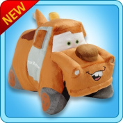Pillow PetsR - Tow Mater (Cars) - Authentic DisneyR 46cm Large Folding Plush Pillow by Pillow Pets