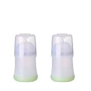 Adiri NxGen Newborn Nurser Baby Bottle 2 Pack, White, 160ml