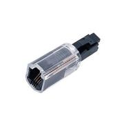 1 x Telephone Cord Detangler Rotating 360 Telephone Cord Detangler, Clear/Black DragonTrading®