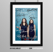 Gilmore Girls Cast Signed Autograph Signature Autographed A4 Poster Photo Print Photograph Artwork Wall Art Picture TV Show Series Season DVD Boxset Memorabilia Gift