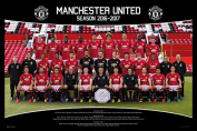 Manchester United Team Squad 2016 - 2017 Poster Maxi - 91.5 x 61cms