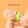 Comotomo Natural Feel 240ml Baby Bottle - Green by Comotomo