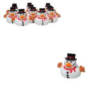Snowman Rubber Ducky Duckies Ducks - 12 ct