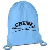 Crew Sport Pack Cinch Sack - Crossed Oars