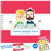 SOFTWARE ENGINEER GIFTS - Personalizable Humour Booklet With Matching Card For Your Favourite Programmer, Developer, Hacker, Geek or Coder! Extremely Easy-To-Fill and Thoughtful Gift Ideas!